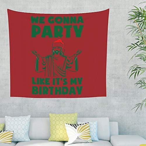 Preisvergleich Produktbild O2ECH-8 Weihnachten Muster Wandteppich Mandala übergroß Couch Abdeckung - gehen zur Party für Halloween Dekorationen White 230x150cm