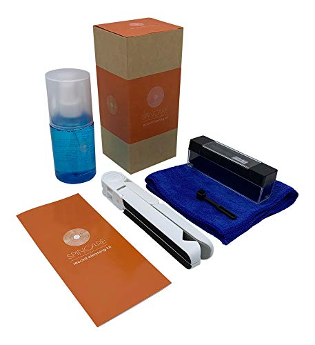Vinyl Record LP Cleaning Kit by SPINCARE | 5-In-1 Set...
