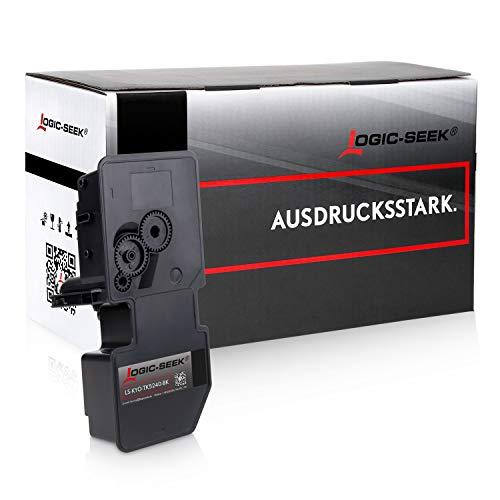 Logic-Seek Toner kompatibel zu Kyocera TK-5240 für Kyocera Ecosys P5026cdw M-5526cdn M-5526cdw P-5026cdn - Schwarz 4.000 Seiten