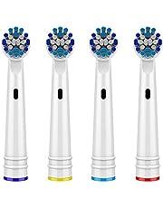 Testine ricambio per spazzolino elettrico Oral-B,Precision Clean testine spazzolino elettrico compatibili con spazzolino elettrico Oral B Braun