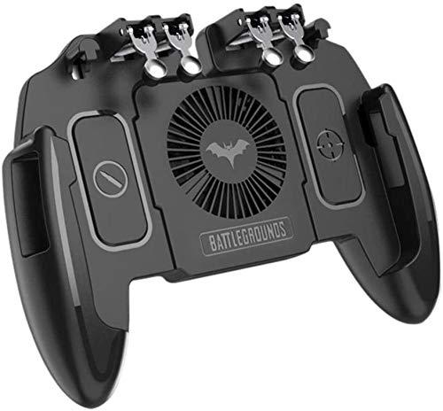 Mobile game controllers, telefoon joystick Six Finger telefoon handvat gaming Trigger Fire Aim Key Voor MEMO mobiele joystick met warmteafvoer functie M10 M11