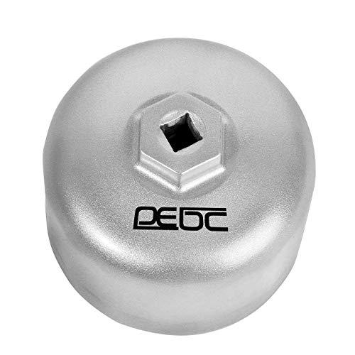 DEDC Llave para Filtro de Aceite Coche 86mm 16 Estrías Llave Vaso de Filtro de Aceite