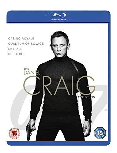 James Bond: The Daniel Craig Collection [4 Film] [Blu-ray] [2019] [2016] [Region B]