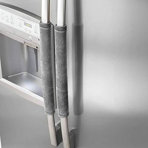 Haihuic Cubierta de la manija de la puerta del refrigerador, Aparatos de cocina Manijas Guantes…