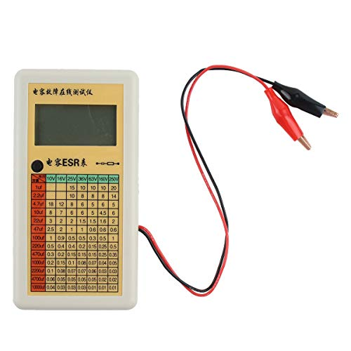 Celerhuak ESR-Tester für LCD-Digitalkondensator Test des internen Widerstandsmessers im Stromkreis