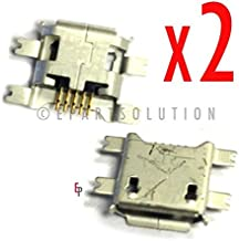 ePartSolution-2 X Posh Memo S580A USB Charger Charging Port Dock Connector USB Port Socket Replacement Part USA Seller