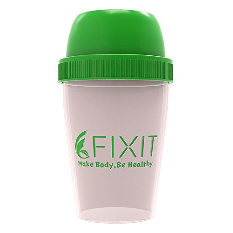 振る舞い気体の反映する【 FIXIT 】 プロテイン シェイカー 300ml ホエイプロテイン プロテイン用 シェーカー