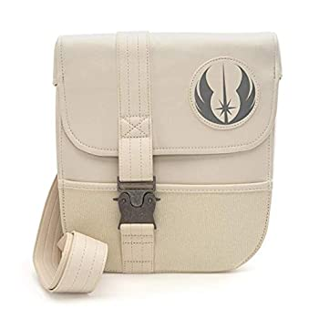 Loungefly x Star Wars Episode IX  Rise of Skywalker Rey Cosplay Sling Bag  One Size Ivory