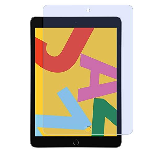 iPad 10.2 (ipad 8世代 2020/ipad 7世代 2019 )ブルーライトカット ガラスフィルム 【ブルーライト93%カット】 強化ガラス 目の疲れ軽減 保護フィルム 高透過率 日本製旭硝子素材 9H硬度 気泡ゼロ 飛散防止 指紋防止 iPad 10.2 第7世代/第8世代 対応 専用