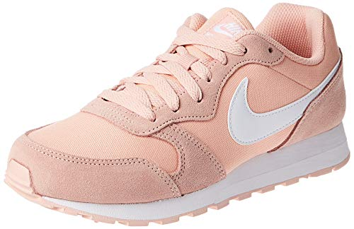 Nike MD Runner 2 PE (GS), Zapatillas de Atletismo para Hombre, Multicolor (Coral Stardust/White 000), 38.5 EU