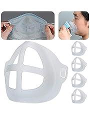 Huilai Soporte De Soporte Facial 3D, Marco Interior Facial Hecho En Casa para Un Uso Cómodo De La Cara, CREA Más Espacio para Respirar, Lavable Reutilizable Y Ayuda A Respirar Sin Problemas