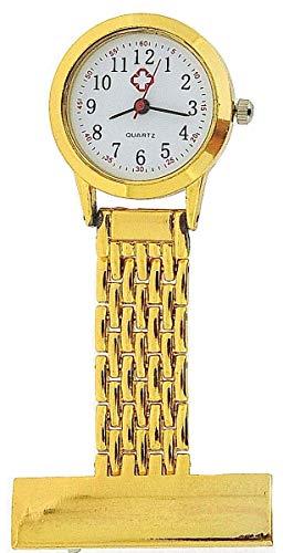 The Olivia Collection nw-009 Gold – Montre de Poche, Bracelet en métal Couleur Or