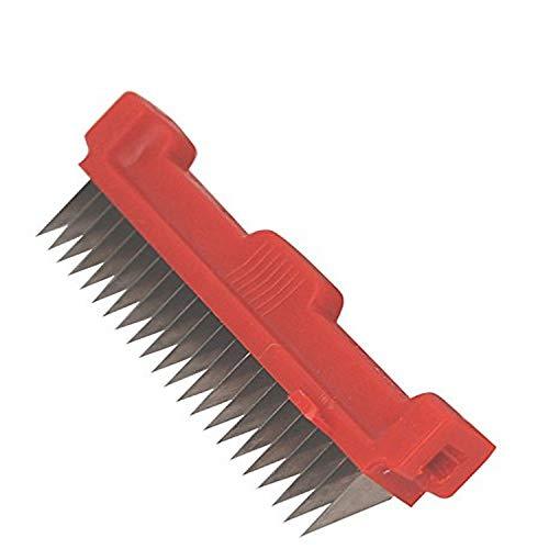 DE BUYER -2012.92 -peigne ultra rouge - pas de 4 mm