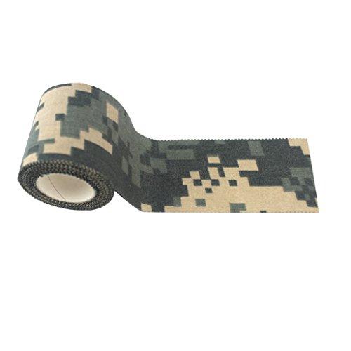 T TOOYFUL 5m Camouflage Selbstklebeband Bandage Klebeband Für Jagd - ACU Tarnung