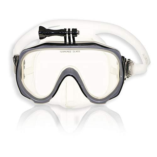 RABIGALA Máscara de Diving Mask DE M97, color plateado