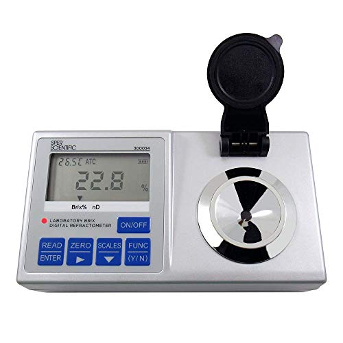 Sper Scientific 300034 Lab Digital Refractometer, Brix: 0~95%