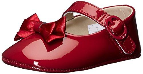 mini melissa Baby-Girl's Mini Ultragirl+Bambi Ballet Flat, Black, 7 Medium US Toddler