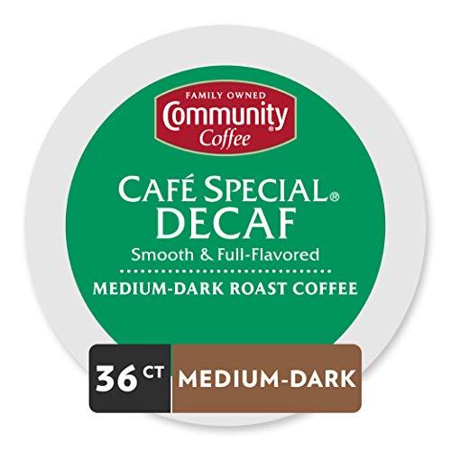 Community Coffee Café Special Decaf 36 ct Single Serve Coffee Pods