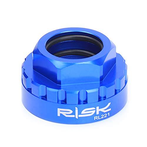 Xpccj Anillo de bloqueo de montaje directo, RISK bicicleta cadena instalación montaje herramientas de reparación bielas para M7100/M8100