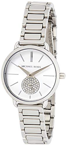 Michael Kors dames analoog kwarts horloge met roestvrij stalen armband MK3837