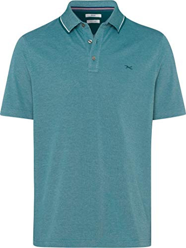 BRAX Herren Style Petter Easy Care Polo Shirt Poloshirt, Green, X-Large (Herstellergröße: XL)