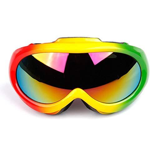 Kinder skibril, kinderskibril, anti-mist Dubbele spiegel, bolvormig oppervlak, 100% uv-bescherming