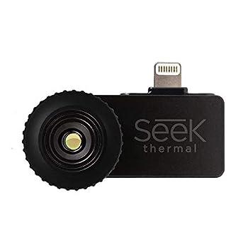 Seek Thermal Compact - All-Purpose Thermal Imaging Camera for iOS  Black - LW-AAA