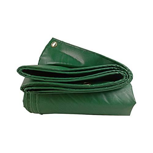 JDKC Lona Lona de 2 MX 3 M / 6,5 Pies X 10 Pies, Verde, Impermeable, Resistente, Lona, con Ojales, 450 G/M², PVC, para Acampar Al Aire Libre, para Plantas, Cubierta, Suelo Tarp (Size : 2X1.5M)