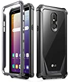 Poetic Guardian Series Designed for LG Stylo 5 /LG Stylo 5X/ LG Stylo 5 Plus/LG Stylo 5V Case, Full-Body Hybrid Shockproof Bumper Cover with Built-in-Screen Protector, Black/Clear