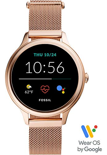 Fossil Women Gen 5E Touchscreen Smartwatch with Speaker, Heart Rate, NFC, and Smartphone Notifications
