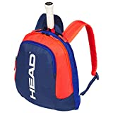 HEAD Unisex Jugend Kids Backpack Tennistasche, Blue/orange, Einheitsgröße