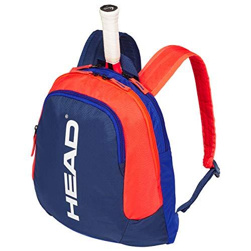 Head - Mochila Infantil para Raqueta de Tenis, Color Azul y Naranja, tamaño Talla única