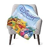 Hdadwy Winnie The Pooh Newborn Baby Blanket Crib Warm Blanket Appropriate for Unisex,Boys,Girls,Newborns,Infants and Childrens Swaddle 30x40 inch