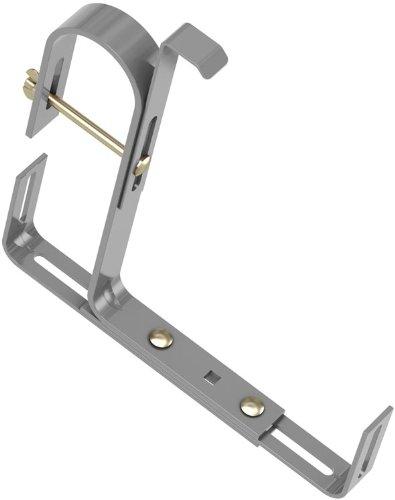 Emsa 508707 Blumenkastenhalter, Tragkraft 25 kg, Aluminium