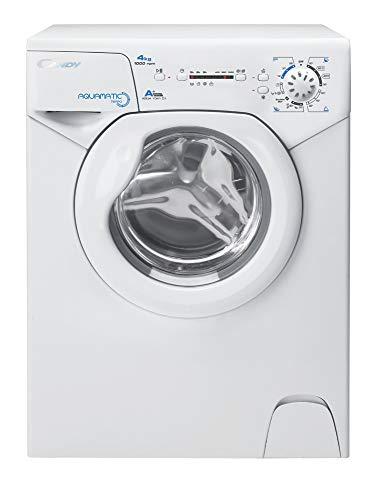 Candy Aqua 1041 D1 Waschmaschine / 4 kg / 1000 U/Min. / Raumsparwunder: nur 70 cm hoch und 45 cm tief / 3 kurzprogramme/Mengenautomatik/Startzeitvorwahl