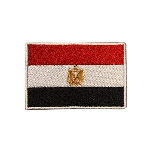 Parche bordado con la bandera de Egipto