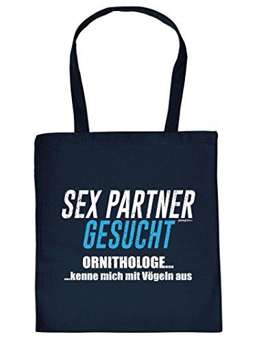 Angesagter Stoffbeutel/Umhängetache mit Motiv: Sexpartner gesucht Goodman Design