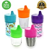 Healthy Sprouts Silicone Sippy Lids (5 Pack) -...