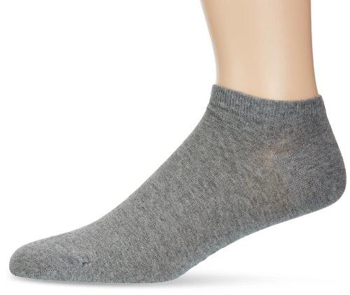 Calvin Klein - Chaussettes de Sport - À Logo - Coton - Homme - Gris (Grey Heather) - 40-46