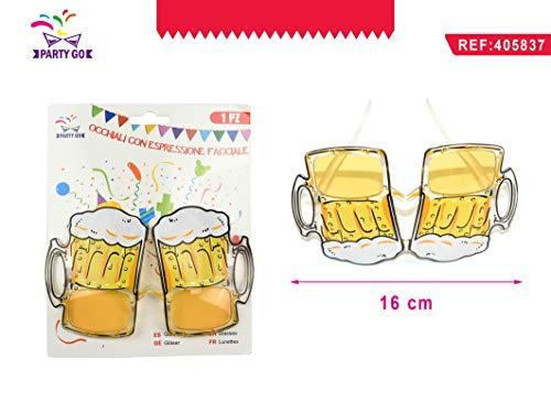 Party Go Gafas en Forma de Vasos de Cerveza para Fiestas temáticas.