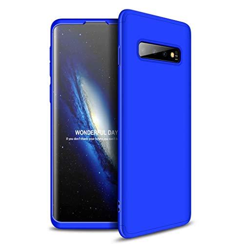Lanpangzi Compatible con Funda Xiaomi Redmi Go Case Caso 3 in 1 Carcasa Todo Incluido Anti-Scratch Case Cover Protectora de teléfono para Xiaomi Redmi Go - Azul
