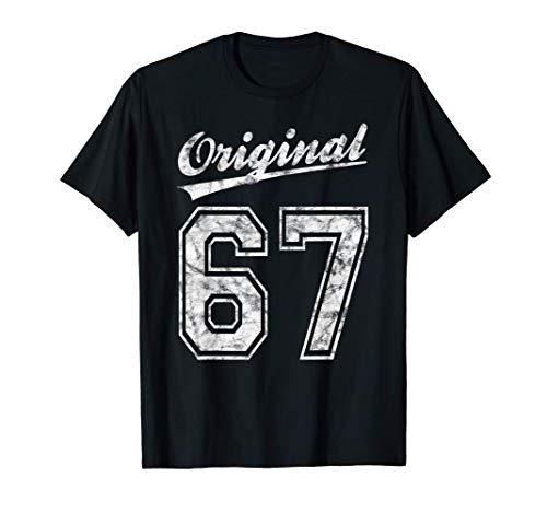 1967 Geburtstag 54 Jahre Original 67 Jahrgang 1967 Geschenk T-Shirt