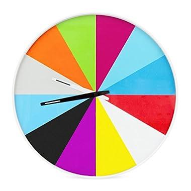 Ultra-Flat Multicolor Wall Clock