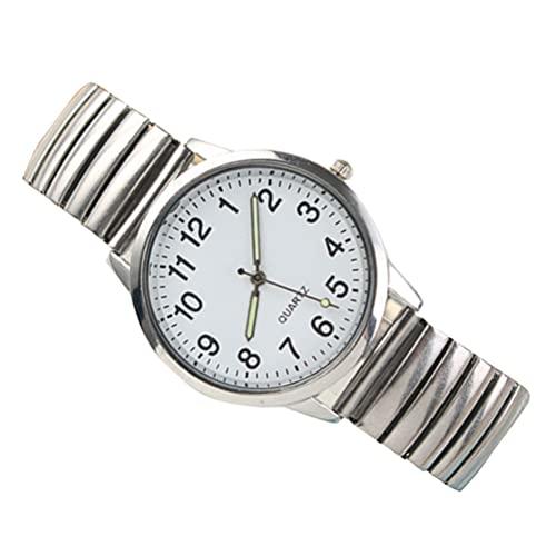 ifundom Lichtgevende Horloge Moderne Horloges Quartz Horloges Duurzaam Horloge 24X3. 6CM