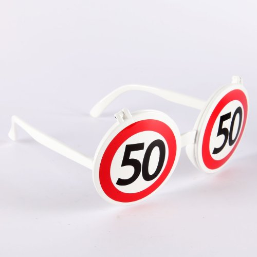 Udo Schmidt Scherz-Brille zum 50. Geburtstag