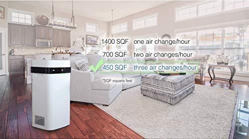 AirdogX5s高性能空気清浄機ウイルス対応静音設計TPAフィルターフィルター交換不要※転売業者や海外輸入品にご注意ください。