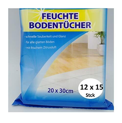 RDI Feuchte Bodentücher Putztücher Allzwecktücher Bodenputztücher Zitrone 180 Stck