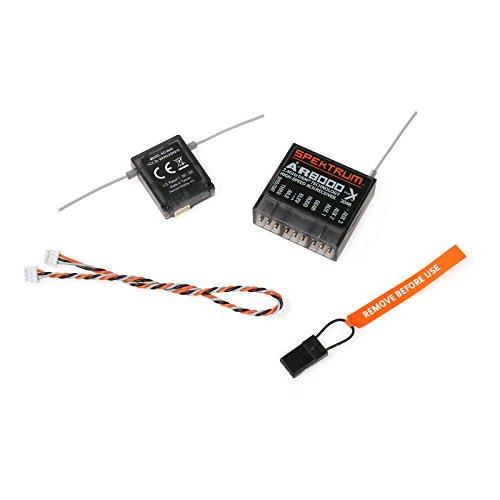 LICHIFIT Fast Speed RC Receiver for Spectrum AR8000 8CH DSM2 DSMX DX7 DX8 DX9 DX18