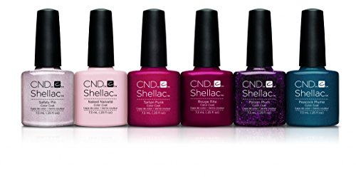 Cnd Shellac Contradictions Esmalte Gel - 1 Paquete de 6 x 7.3 ml - Total:...