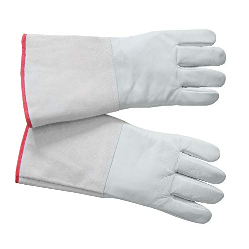 HFS (R) Cryogenic Gloves LN2 Protective Gloves Liquid Nitrogen Low Tempt (13.8'')
